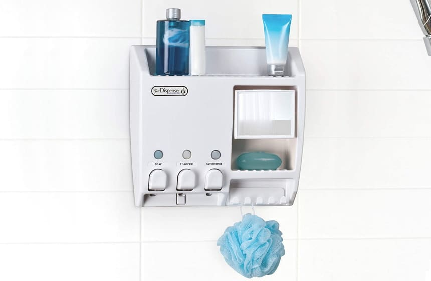 10 Best Shower Dispensers – No More Piled Up Bottles All Over Around