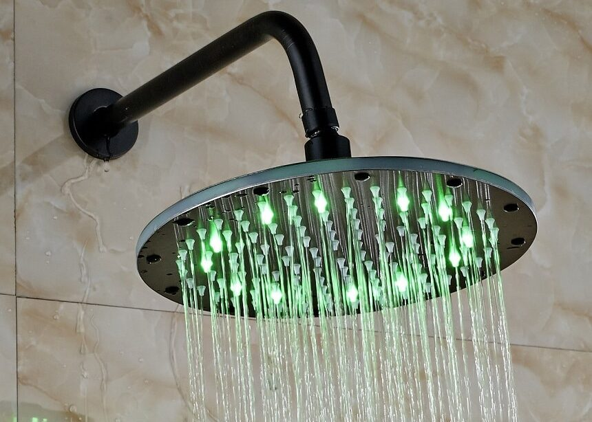 10 Best LED Shower Heads – Set the Temperature According to Your Mood!