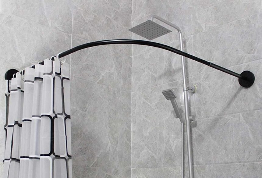 7 Most Noteworthy Shower Curtain Rods Which Combine Maximum Functionaity and Aesthetics