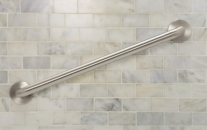 7 Best Shower Grab Bars for Extra Support and Maneuverability