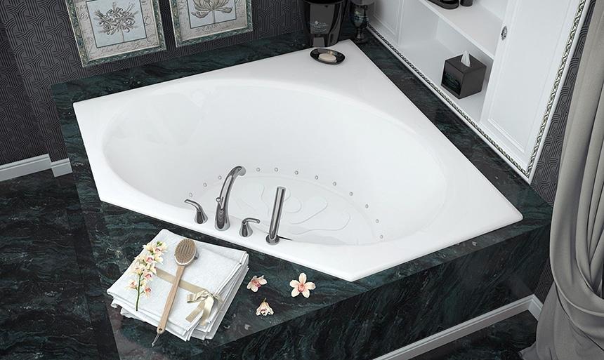 5 Best Corner Bathtubs that Will Fit Seamlessly In Most Bathroom Designs