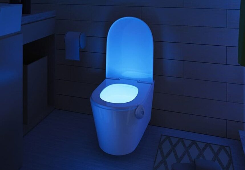 7 Awesome Toilet Lights - Pretty Up Your Bathroom