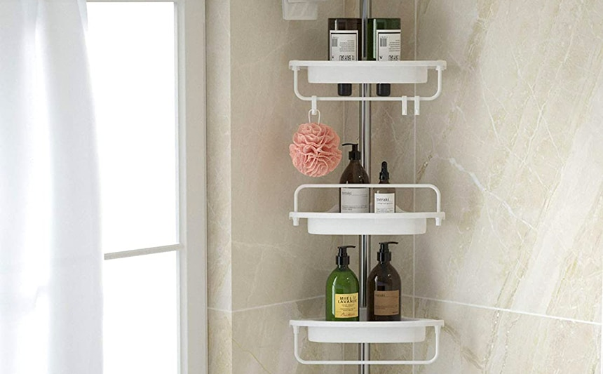 6 Awesome Corner Shower Caddies to Organize Your Bathroom