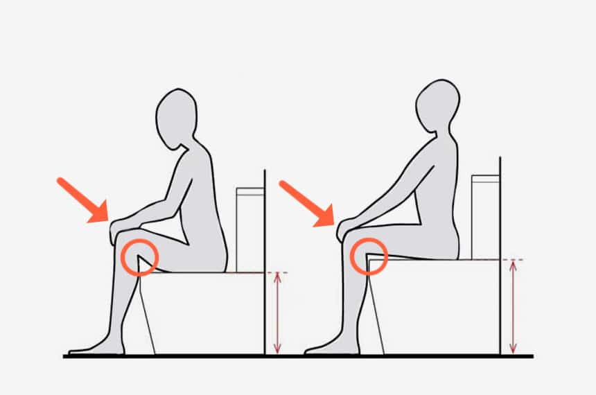 Chair Height vs Standard Height Toilet: What's the Difference