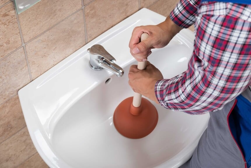 How to Unclog Bathroom Sink